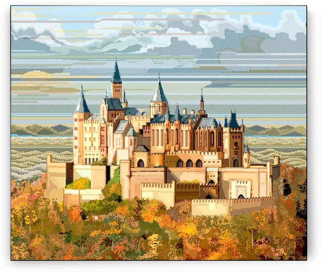 Burg Hohenzollern Germany by Archipicsstore