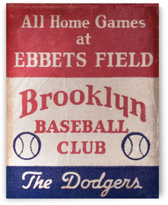 1939 Brooklyn Dodgers by Row One Brand