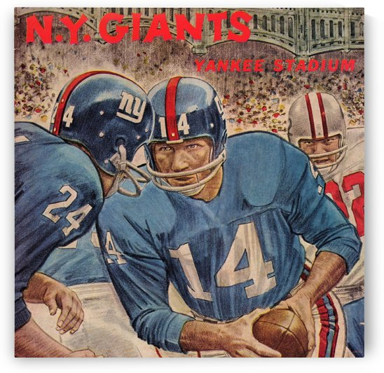 1963_National Football League_Washington Redskins vs. New York Giants_Yankee Stadium_Program_Row One (1) by Row One Brand