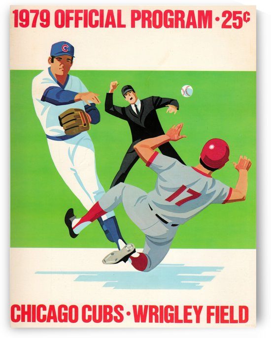 1979_Major League Baseball_Chicago Cubs_Wrigley Field_Program_Row One by Row One Brand