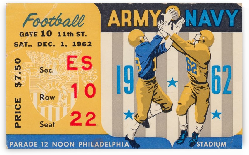 1962_College_Football_Army vs. Navy_Municipal Stadium_Row One Brand 1 by Row One Brand