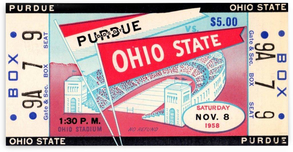 1958_College_Football_Purdue vs. Ohio State_Ohio Stadium_Row One Brand by Row One Brand
