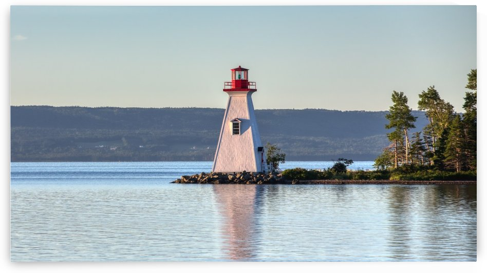 Baddeck Lighthouse by Michel Soucy
