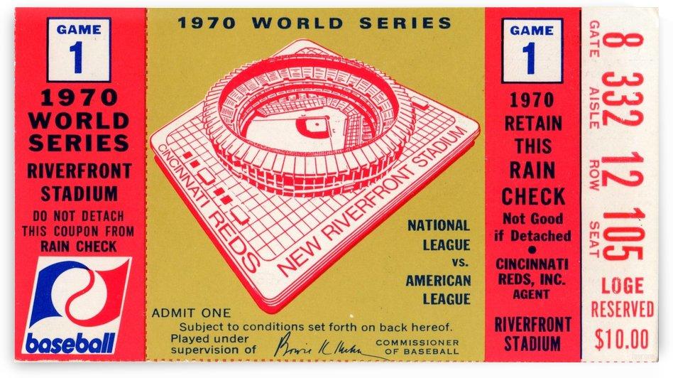 1970_Major League Baseball_World Series_Cincinnati Reds vs. Baltimore Orioles_Riverfront Stadium by Row One Brand