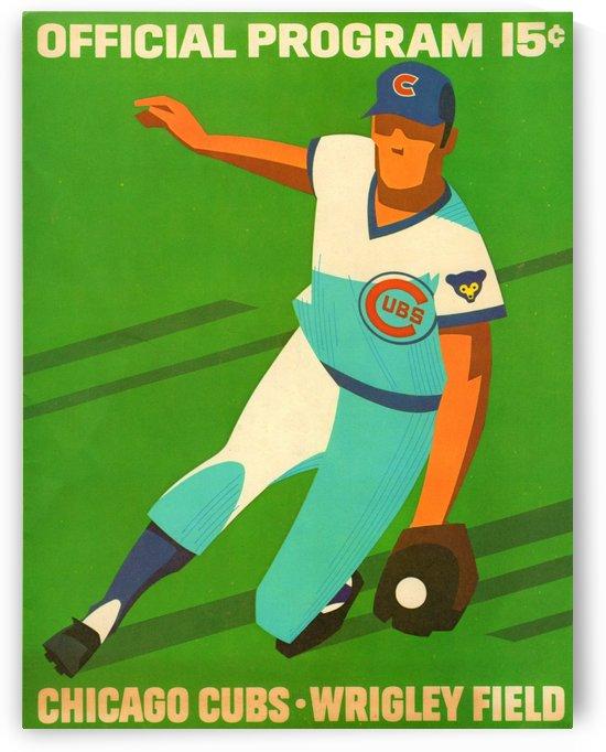 1972_Major League Baseball_Chicago Cubs_Program_Wrigley Field_Row One Brand by Row One Brand