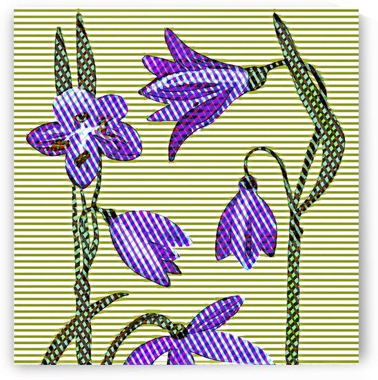Spring Stripe 5 by Jarmila Kostliva Studio