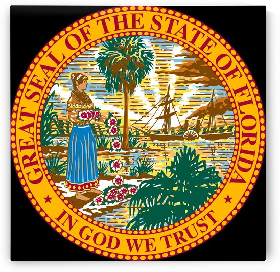 Florida Great Seal by Fun With Flags