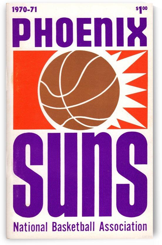 1970 Phoenix Suns by Row One Brand