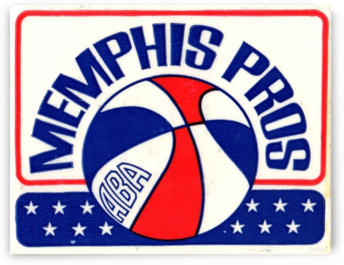 1971_American Basketball Association_Memphis Pros_Row One Brand by Row One Brand
