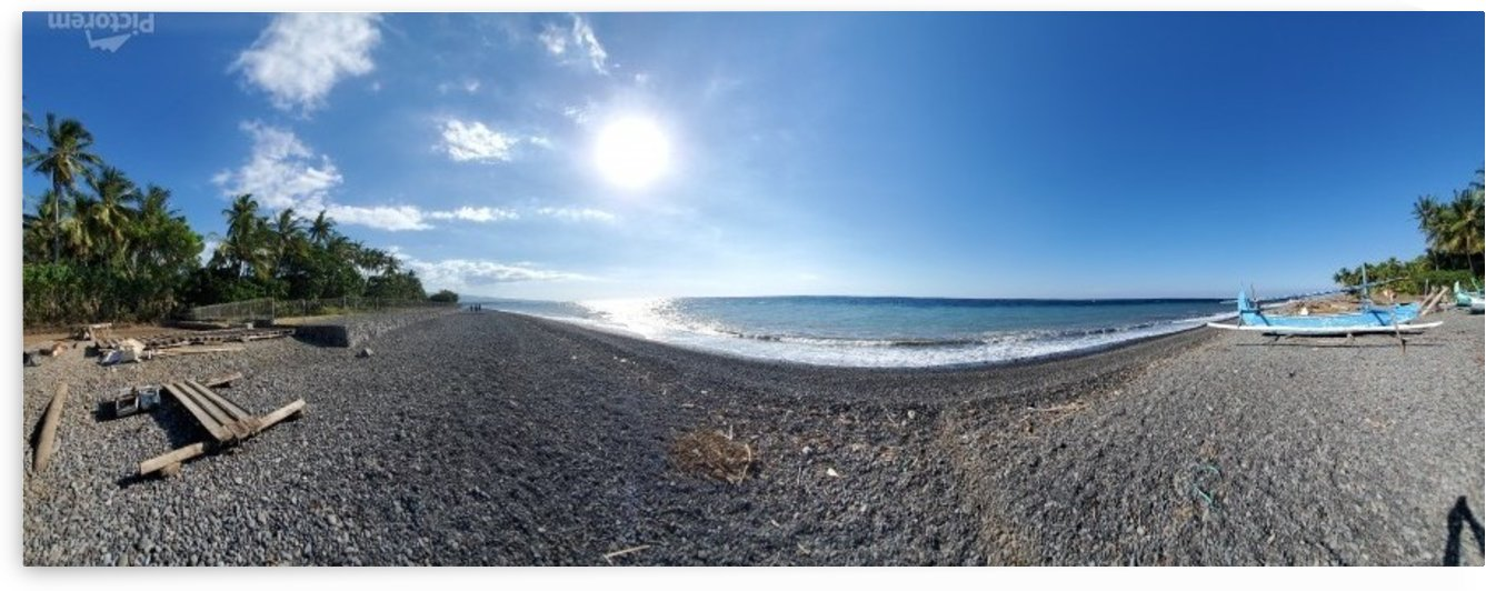 Wide Angle Beach by Michael Brown