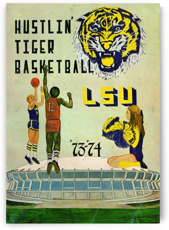 1973 Hustlin Tiger Basketball by Row One Brand