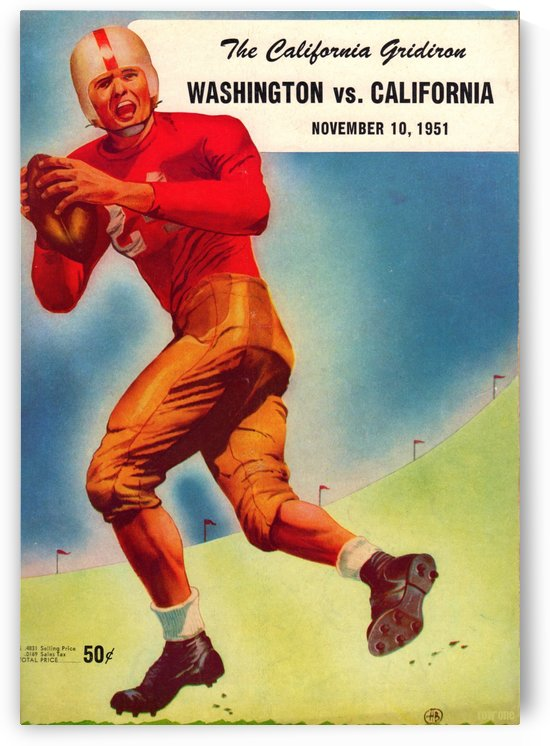 1951 Washington vs. Cal by Row One Brand