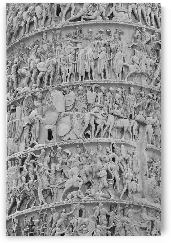Column of Marcus Aurelius by H.Hart Photography