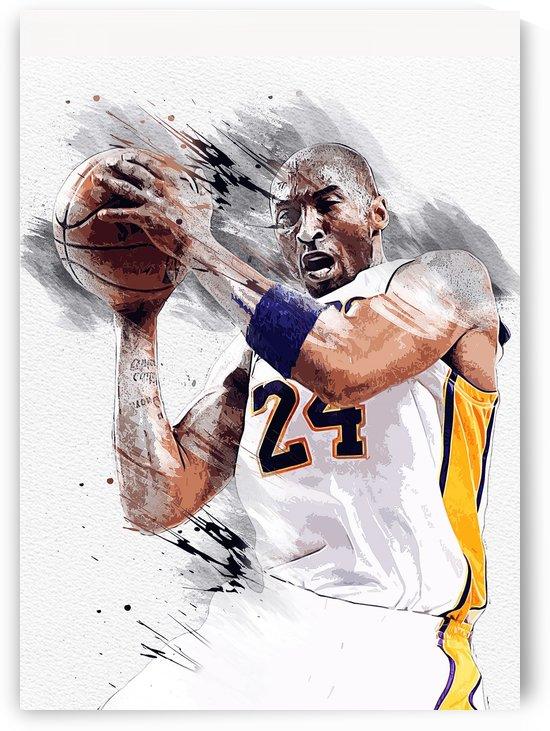 Kobe Bryant 24 by Masahiro Art