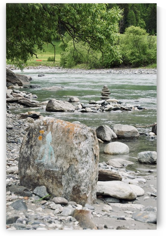 A Small Stream in Susch invites for Yoga Qi-Gong and other Mindful Moments II by Swiss Art by Patrick Kobler