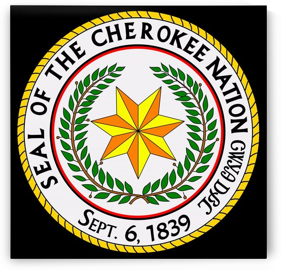 Cherokee Nation Great Seal by Fun With Flags