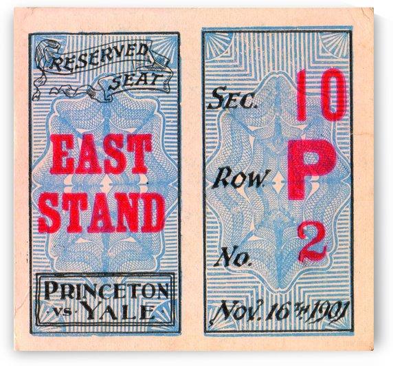 1901 Princeton vs. Yale by Row One Brand