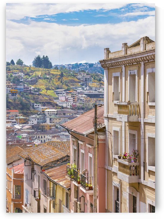 Quito Historic Center Aerial View, Ecuador by Daniel Ferreia Leites Ciccarino