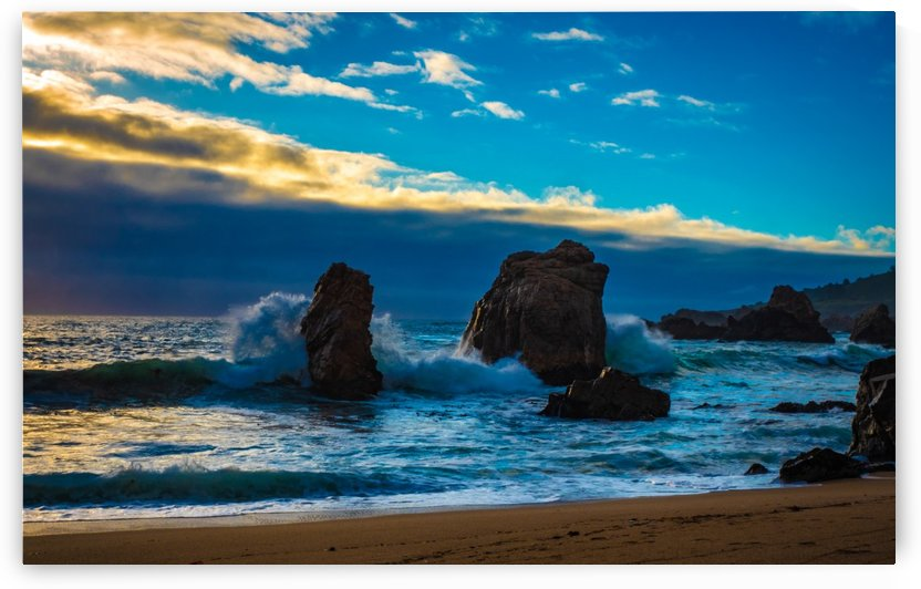 Just Me And The Ocean by Verinder Grewal Photography