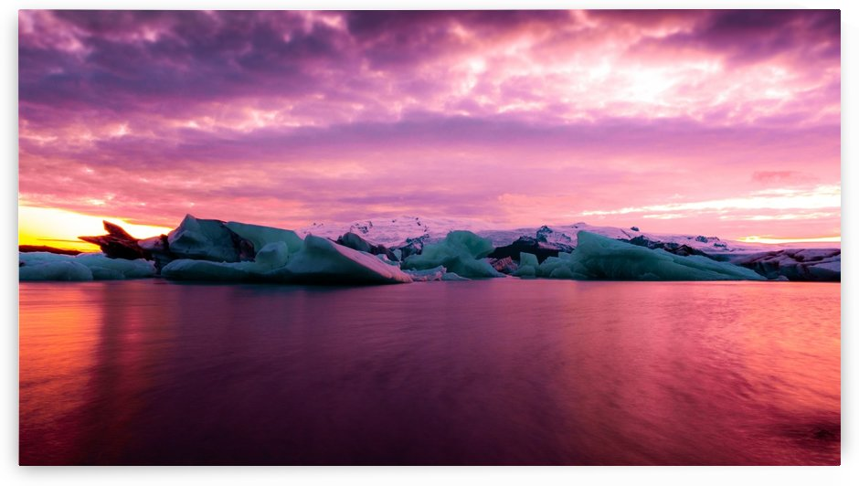 Glaciers In The Bay by Verinder Grewal Photography