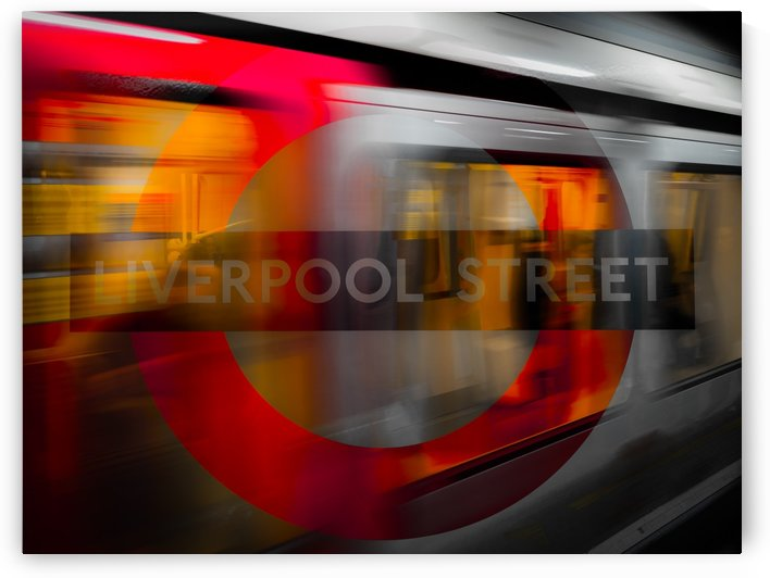 Liverpool Street by Verinder Grewal Photography
