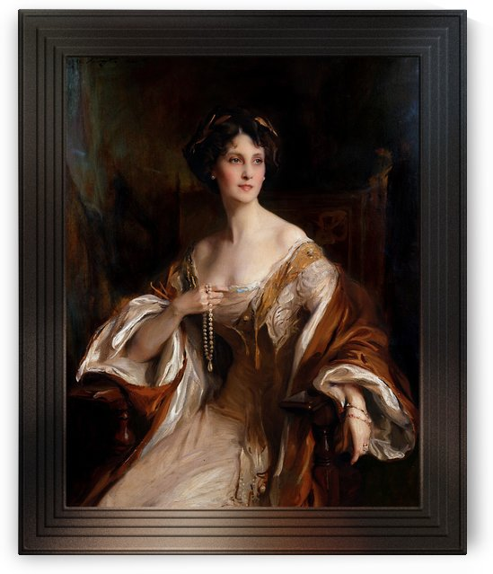 Portrait of Winifred Cavendish-Bentinck by Philip de Laszlo by xzendor7