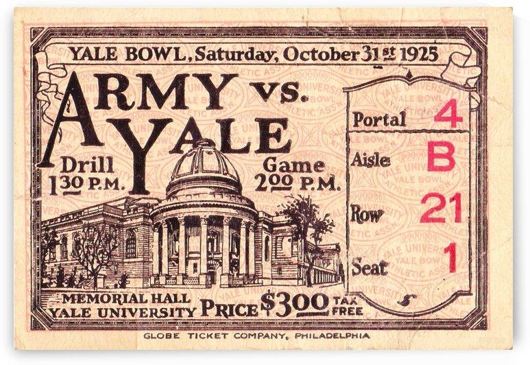 1925 Army vs. Yale  by Row One Brand