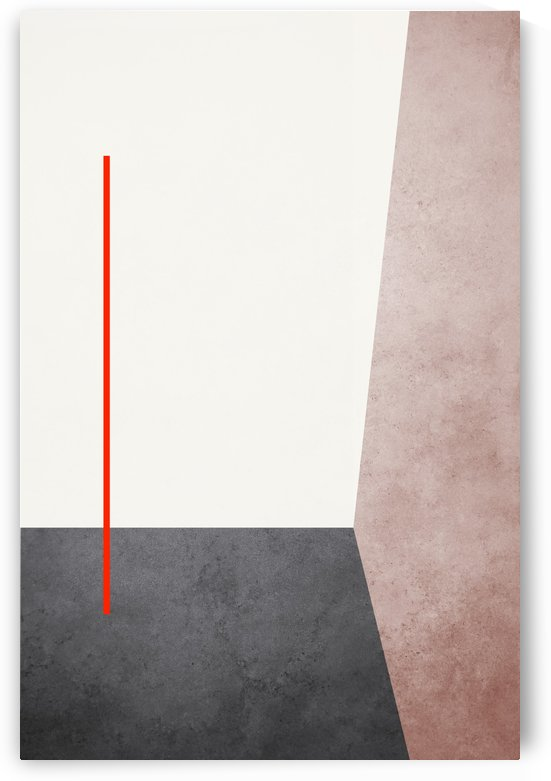 Shapes 04 - Abstract Geometric Art Print by Adriano Oliveira