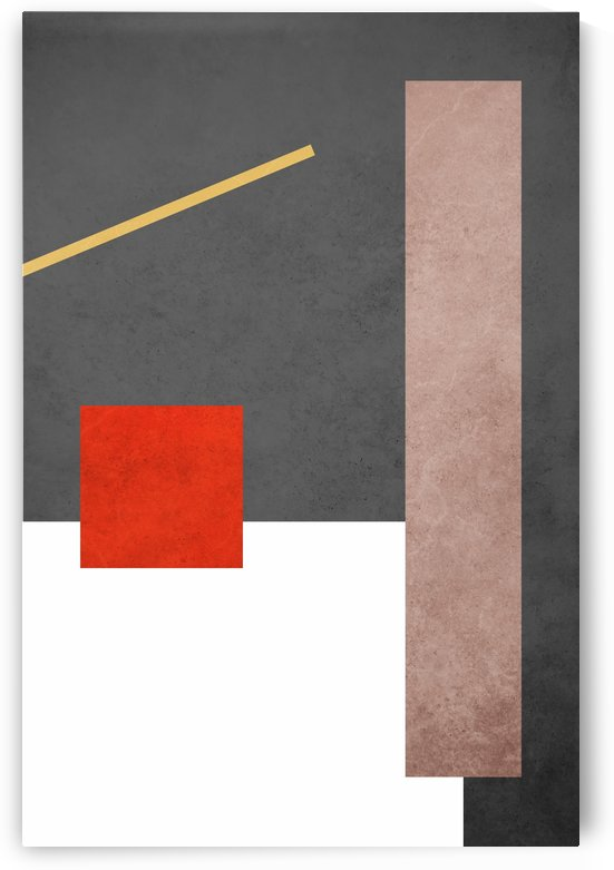 Shapes 03 - Abstract Geometric Art Print by Adriano Oliveira
