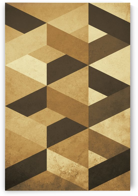 Shapes 07 - Abstract Geometric Art Print by Adriano Oliveira