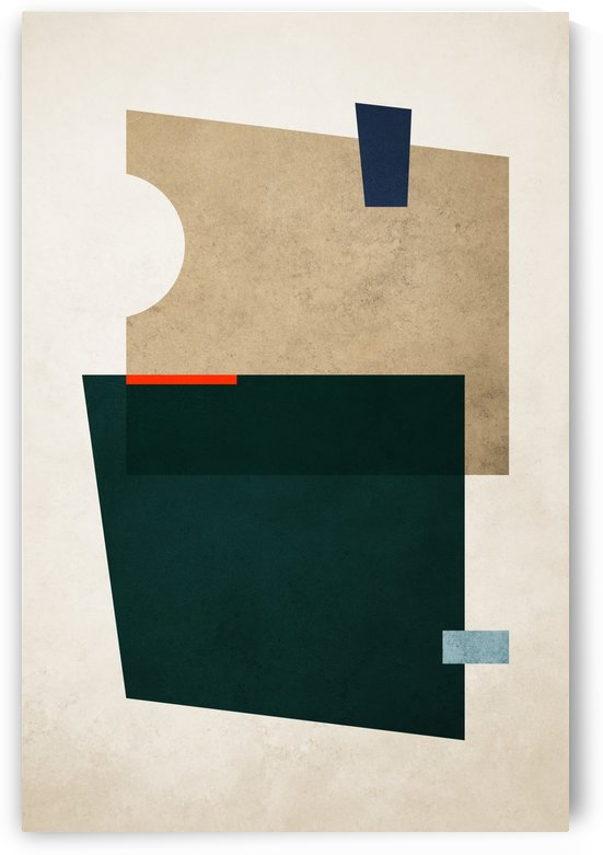 Shapes 11 - Abstract Geometric Art Print by Adriano Oliveira