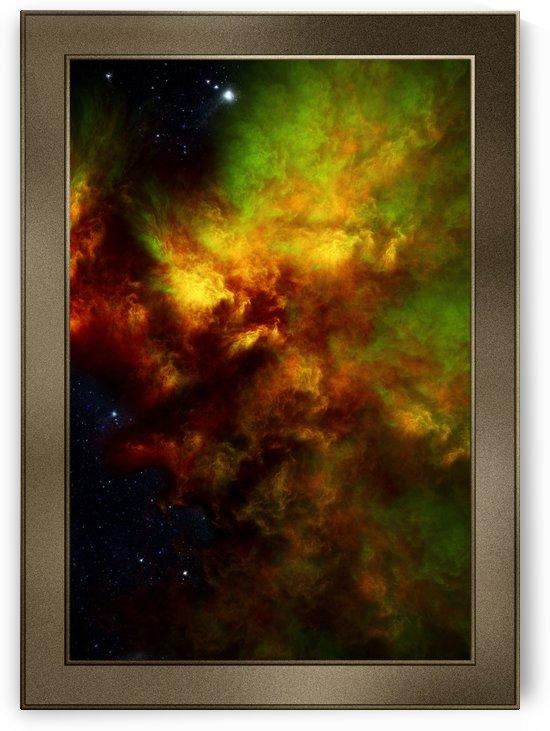 Nebula Storm ENH Fractal Art Spacescape by xzendor7