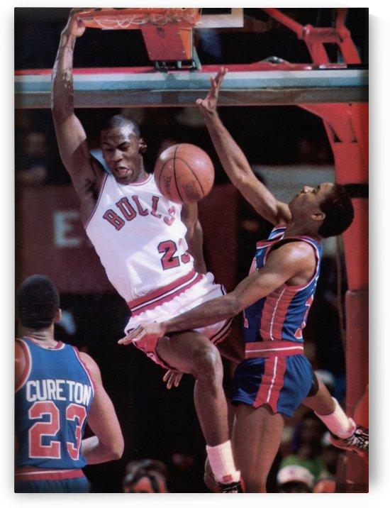 1985 Rising Star Michael Jordan Print  by Row One Brand
