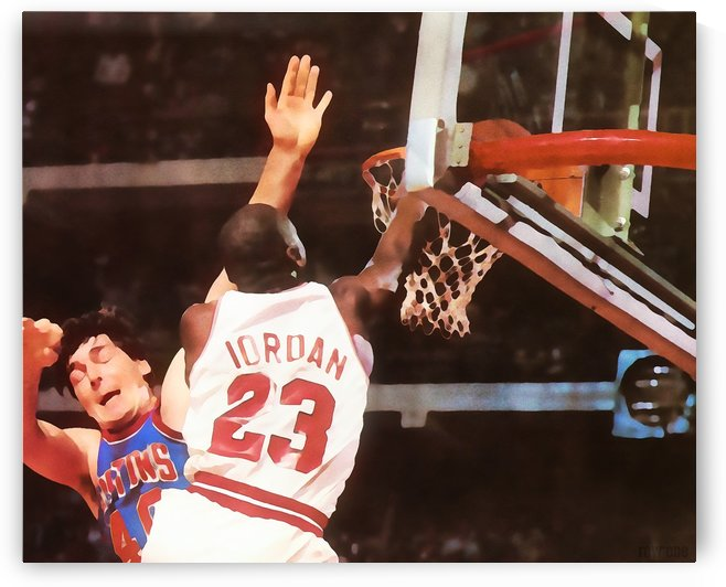 Take That. Michael Jordan Watercolor Art by Row One Brand