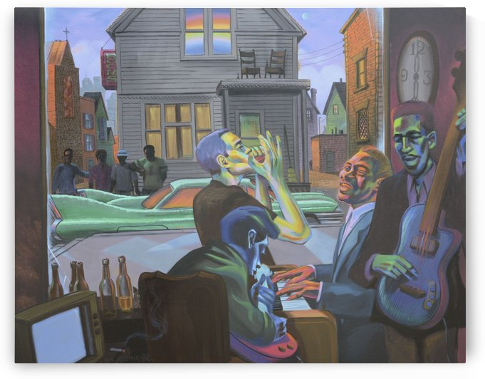 Miracle on Hastings Street by Mr  Atomic Art
