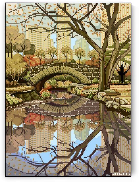 Central Park by Archipicsstore