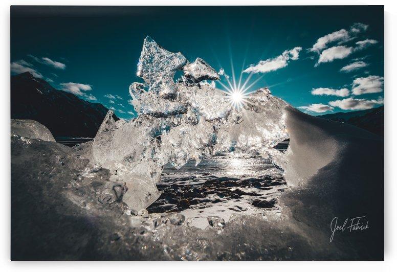 Ice Castle - Abraham Lake by Joel Fabrick