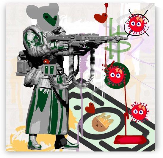 Corona Soldier by GABA