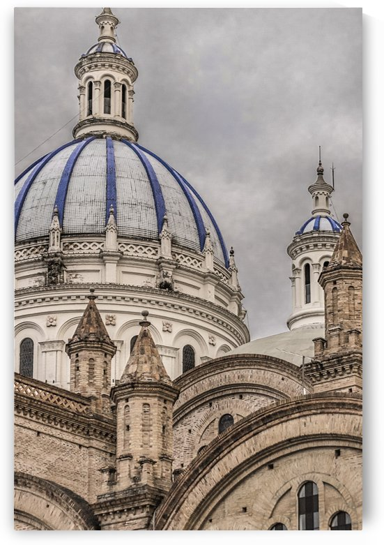 Immaculate Conception Cathedral Cuenca, Ecuador by Daniel Ferreia Leites Ciccarino