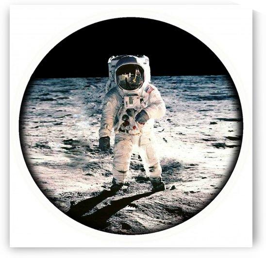 astronaut apollo by Shamudy