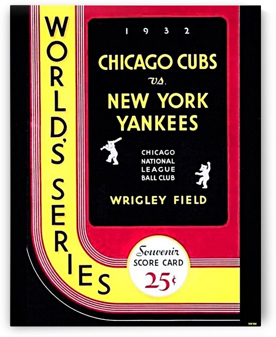 1932  World Series  by Row One Brand