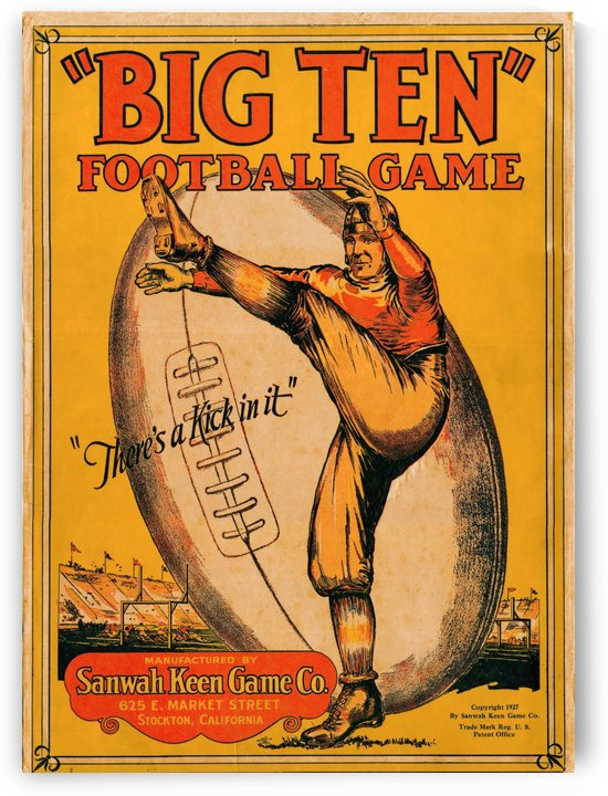 1927 Big Ten by Row One Brand