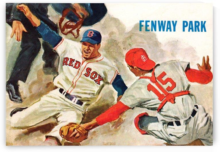Boston Red Sox Baseball Wall Art Print (1967) by Row One Brand