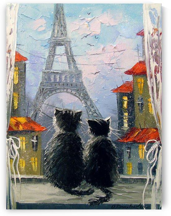 Parisians  by Olha Darchuk