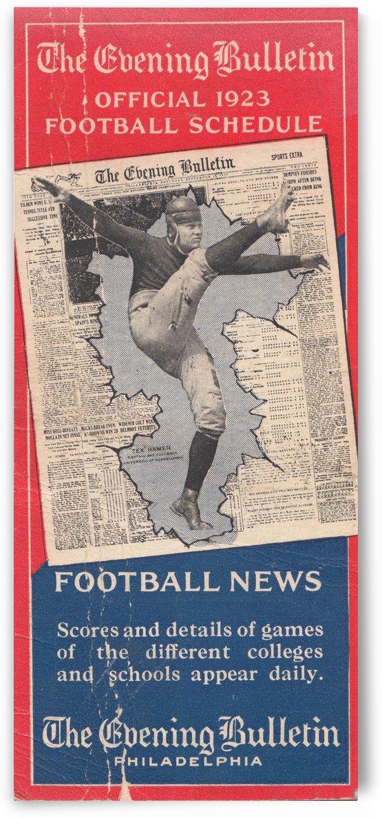 1923 Philadelphia Evening Bulletin by Row One Brand