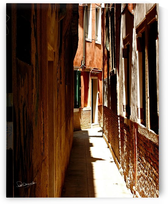 Hidden Venice Alley by Shadow and Form