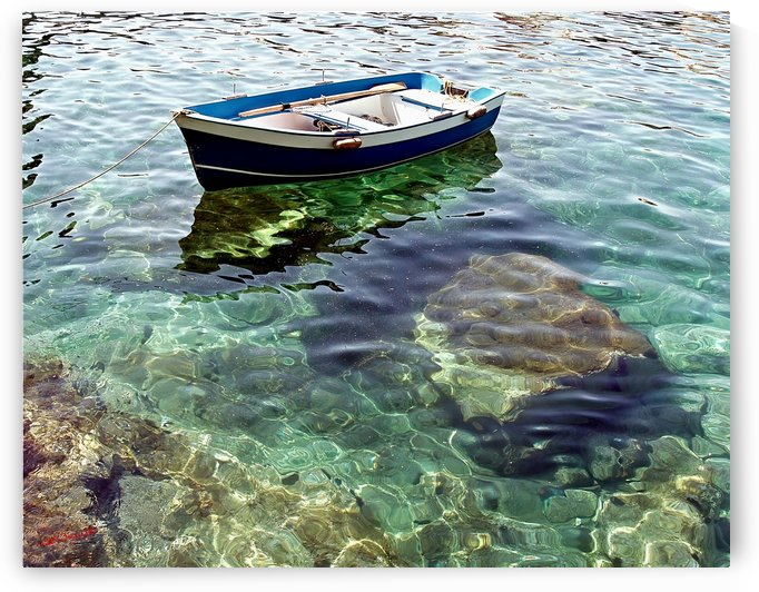 Clear Mediterranean by Shadow and Form