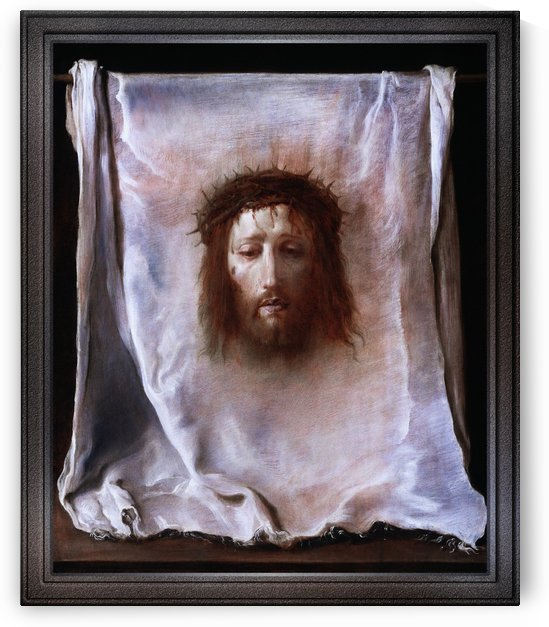 The Veil of Veronica by Domenico Fetti Old Masters Fine Art Reproduction by xzendor7