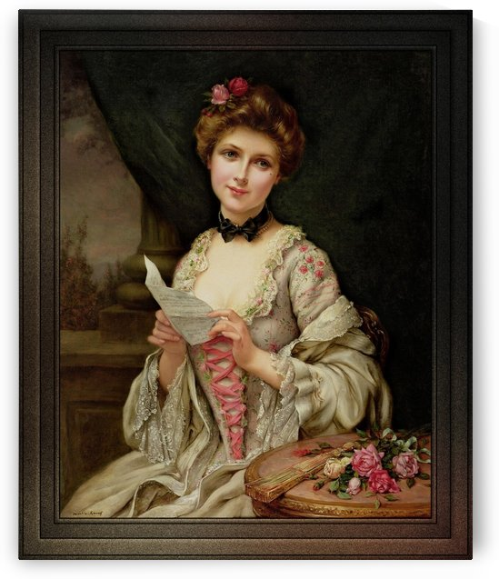 The Love Letter by Francois Martin-Kavel by xzendor7
