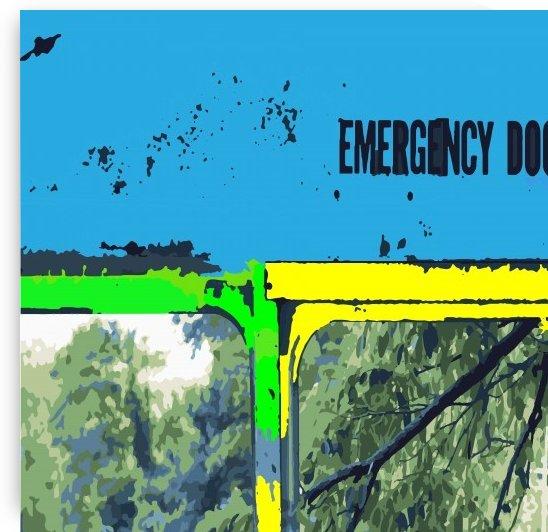Emergency Door School Bus by dePace-